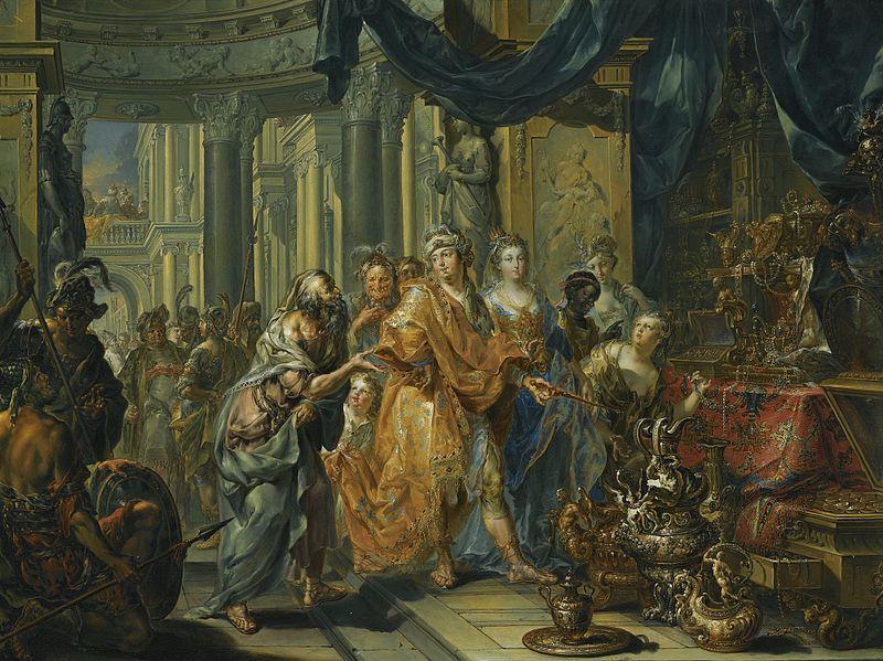 File:Croesus and Solon by Johann Georg Platzer.jpg