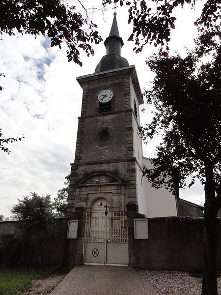 Croismare (M-et-M) église