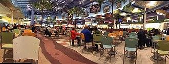 CrossIron Mills - The old food court in CrossIron Mills, 2013