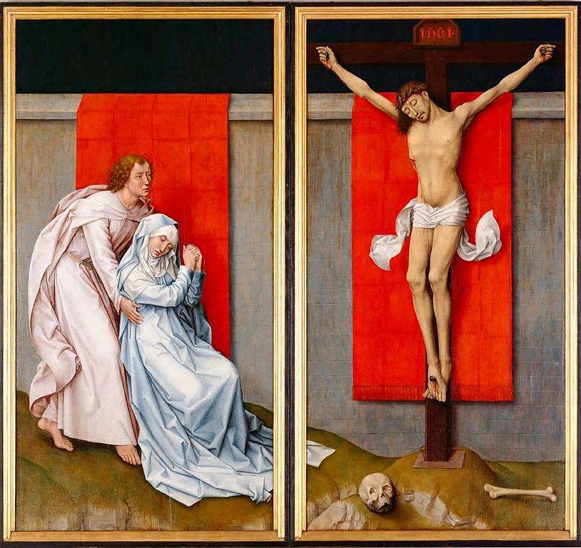 File:Crucifixion Diptych (Rogier van der Weyden).jpg - Wikimedia ...