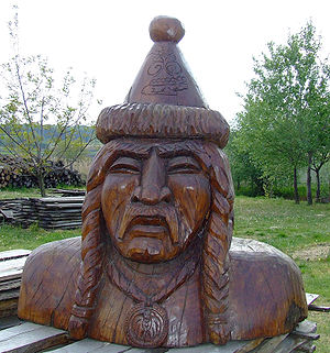 Csanád - Bust of Csanád in Érsekcsanád
