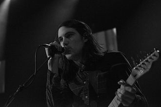 Cults (band) - Brian Oblivion, 2014, Munich