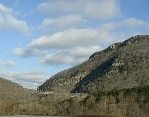 Cumberland Gap - Cumberland Gap in winter