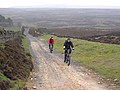 Cyclists on the way up to Blanchland Moor - geograph.org.uk - 1280097.jpg