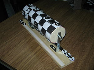 Cylinder chess - Cylindrical chessboard