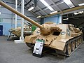 Czechoslovak-produced SU-100 tank destroyer in Bovington Tank Museum.jpg