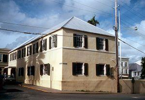 Danish West India and Guinea Company Warehouse - Image: DANISH WEST INDIA & GUINEA COMPANY WAREHOUSE