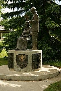 Elfros Village in Saskatchewan, Canada