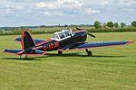 DHC-1 Chipmunk 22 'G-AOJR' (27181526491).jpg