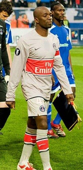 Claude Makélélé - Makelele with Paris Saint-Germain in 2015