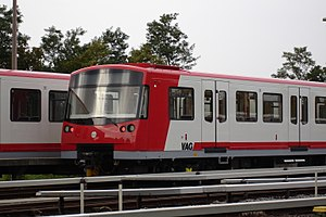 Siemens Modular Metro - A recent Siemens Mo.Mo train, the fully automatic Nuremberg U-Bahn DT3
