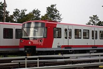 Siemens Modular Metro - A recent Siemens Mo.Mo train, the fully automatic Nuremberg U-Bahn DT3