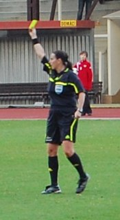 Dagmar Damková Czech soccer player, soccer referee, educator and sports official