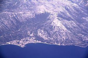 Kačić noble family - Gradac is naturally protected by Biokovo mountain, making it mainly accessible by the sea.
