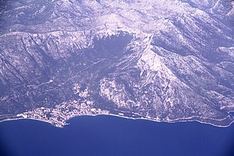 Kačić family - Gradac is naturally protected by Biokovo mountain, making it mainly accessible by the sea.