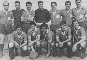 Villa Dálmine - The 1963 team that won the Primera C title.