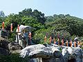 Dambulla-Procession de moines bouddhistes.jpg