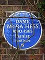 Dame Myra Hess 1890-1965 pianist lived here.jpg