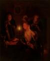 Dame bei Kerzenlicht vor einem Spiegel, Mauritshuis Den Haag.tif