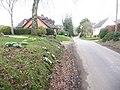 Damerham, lane through South End - geograph.org.uk - 1163965.jpg
