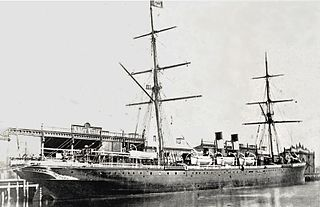 German ocean liner launched in 1873