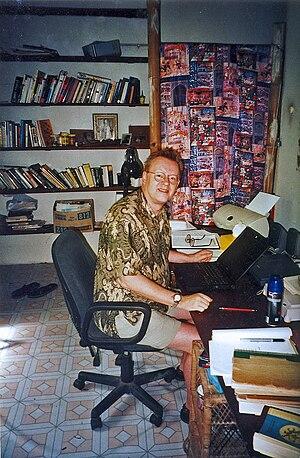 Dan McLeod - Dan McLeod at work near Cooktown, Australia