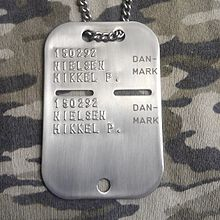 Military Dog Tag Chain For Sale