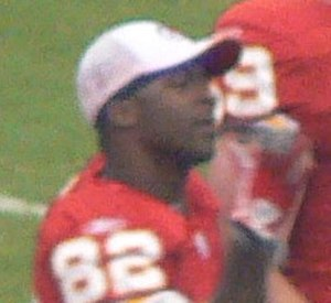 Dante Hall - Dante Hall at midfield, preseason game against Houston Texans in August 2006.