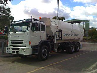 City of Darebin - City of Darebin automated waste collection truck (2009)