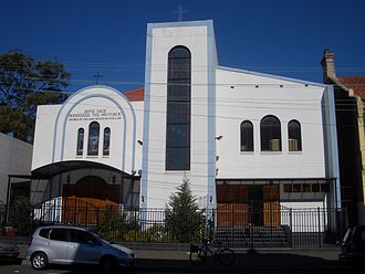 Darlington, New South Wales - The Dormition of Our Lady, Greek Orthodox Church on Abercrombie Street