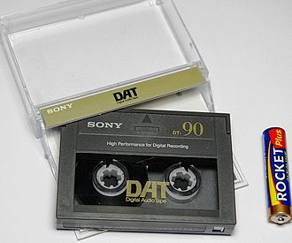 Digital Audio Tape - Image: Dat cartridge