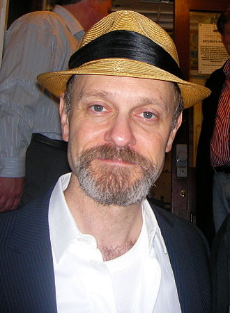 David Hyde Pierce - Pierce outside Harold Pinter Theatre after the final performance of La Bête in September 4, 2010