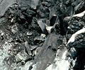 David Johnston near crest of the bulge on the north side of Mount St. Helens, 17 May 1980 (USGS) cropped 1.JPG