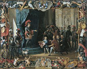 The Submission of the Sicilian Rebels to Antonio de Moncada in 1411
