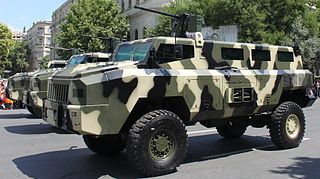 South African armoured personnel carrier