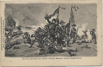 Battle of Boshof - Image: De Villebois PC