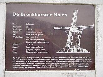 Bronkhorst - Image: De Bronkhorster Molen