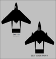 De Havilland DH.110 and Sea Vixen FAW.1 top-view silhouettes.png