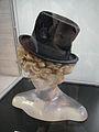 Debbie Reynolds Auction - Harpo Marx signature historic vintage top hat and wig.jpg