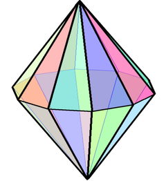 Decagonal bipyramid