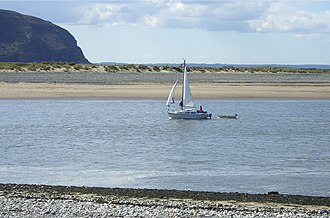 Deganwy - Conwy Estuary, Sailing in to Deganwy