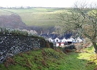 Groes-faen village in United Kingdom