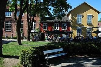 Drøbak - The old bakery in Drøbak