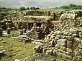 Detail from roman fort of Vindolanda 31.jpg
