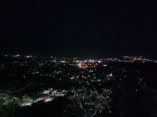 Dewas City in Madhya Pradesh, India