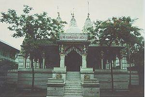 Shri Swaminarayan Mandir, Dholera - The temple at Dholera