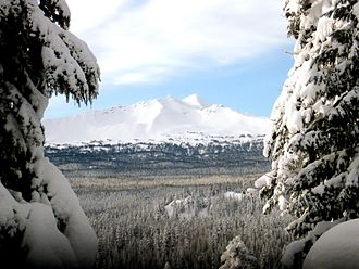 Diamond Peak Wilderness - Diamond Peak from the Pacific Crest Trail