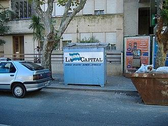 La Capital - A newsstand sponsored by La Capital.