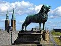 Die Goslarer Kaiserpfalz. Der Braunschweiger Löwe.jpg