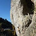 Die Kuhkirchner Wand ist eine südlich ausgerichtete Wand mit meist leicht überhängenden Wandklettereien. - panoramio.jpg